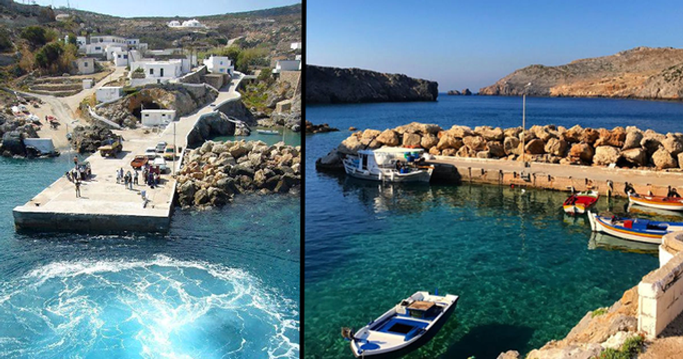 A Greek Island Is Paying People $570 a Month to Live There