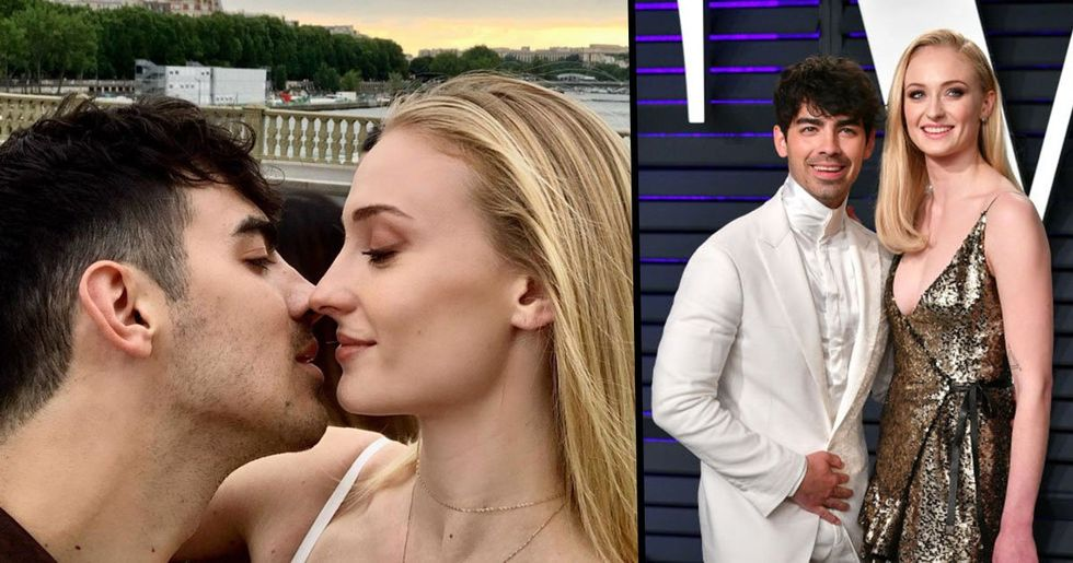 Sophie Turner and Joe Jonas Share Their First Personal Wedding Photos on Instagram