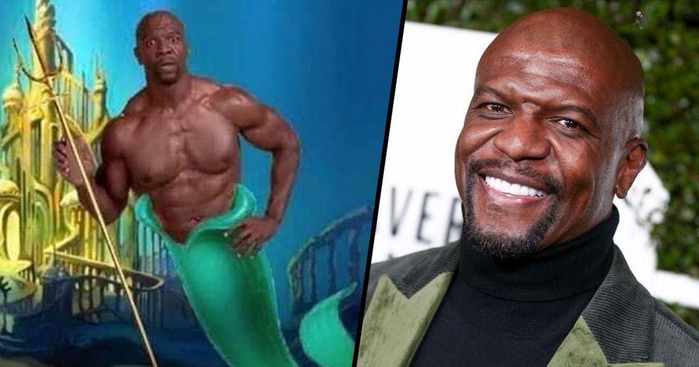 Terry Crews Nominates Himself to Play King Triton in Disney's 'Little Mermaid' Remake