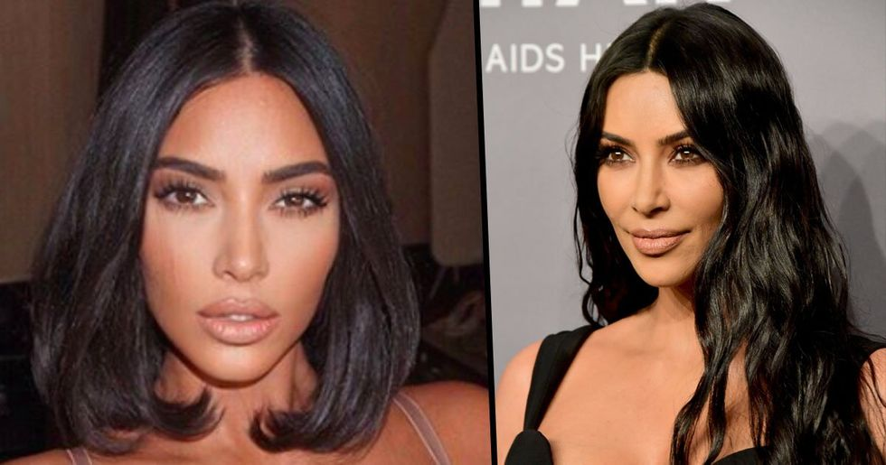 People Are Accusing Kim Kardashian of Facetuning Pictures of Her Kids
