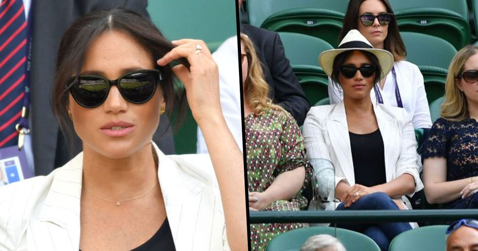 Meghan Markle Requested No Photos Were Taken of Her at Wimbledon