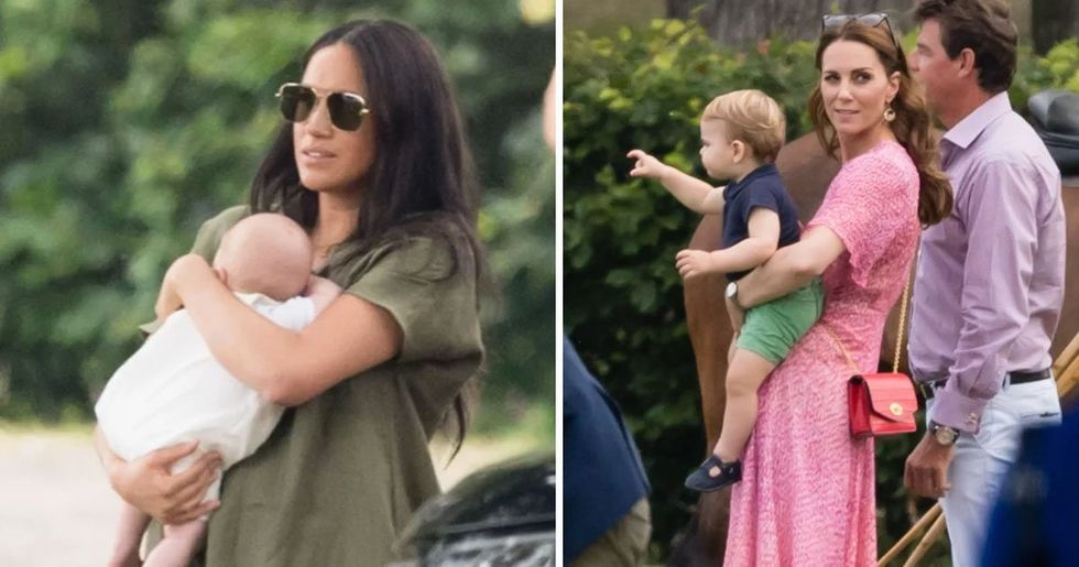 Kate and Meghan's Kids Had First Royal Playdate and It Was Adorable