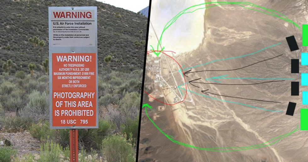 The U.S. Military Issued a Terrifying Warning to Anyone Who Storms Area 51