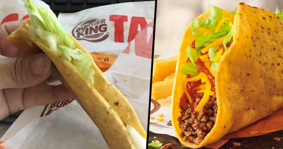 Burger King's New $1 Tacos Look Nothing Like They Did in the Adverts