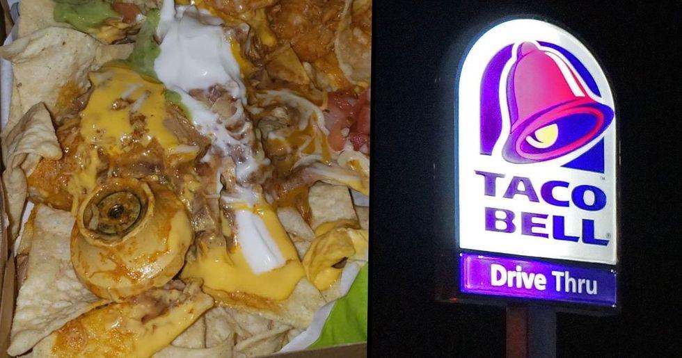 Taco Bell Customer Finds Door Knob in Her Nachos
