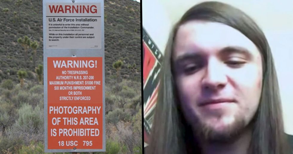 Man Who Started 'Storm Area 51' Did It as a Joke and Now He's Freaking Out