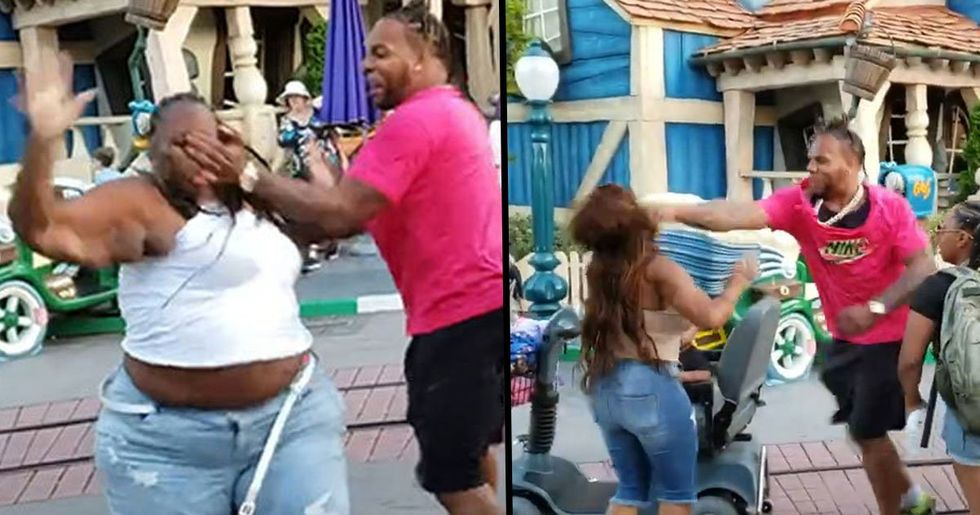 Brutal Disneyland Fight Caught On Video Results In Felony Charges
