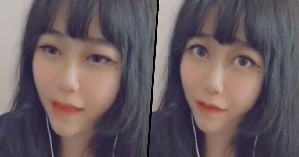 'Young' Vlogger Face Filter Glitches Revealing 58-Year-Old Woman