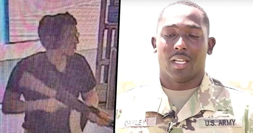 Soldier Who Saved Children in El Paso Breaks Down in Tears Saying the Shooting Was 'the Worst Thing I've Ever Been Through'