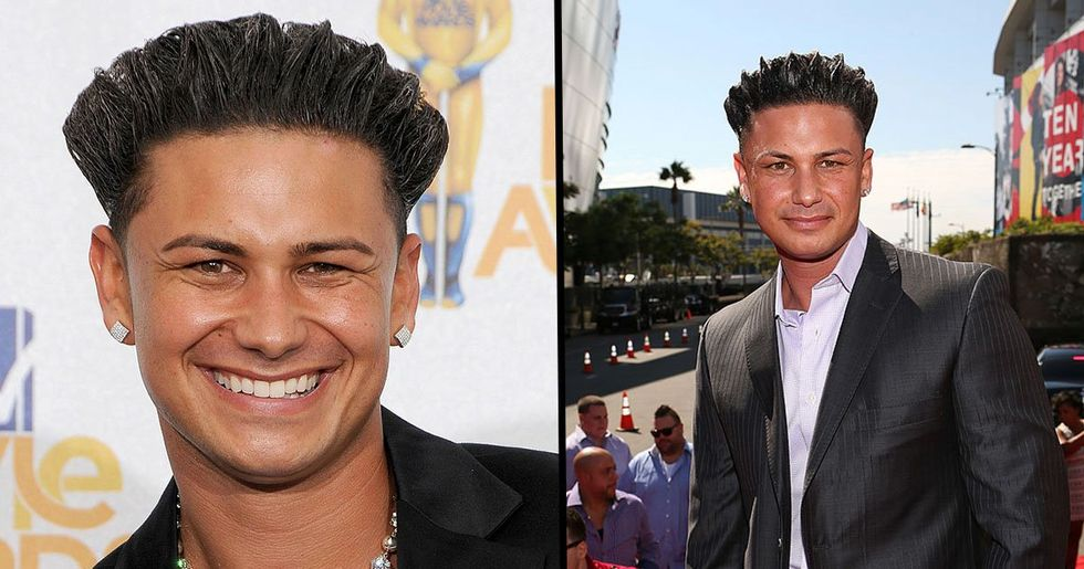 DJ Pauly D Washed out His Hair Gel and Looks Hot