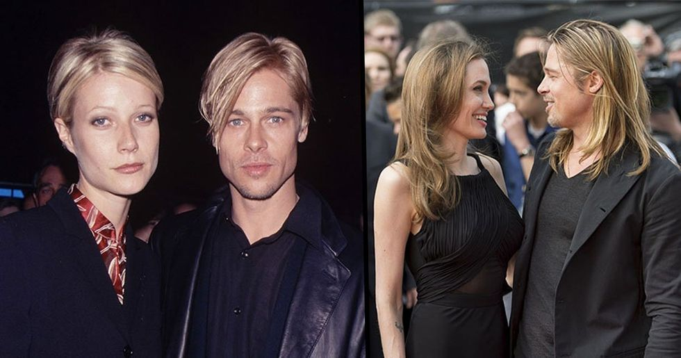 Someone Just Pointed out That Brad Pitt Always Looks like Whoever He Is Dating and You Can't Unsee It
