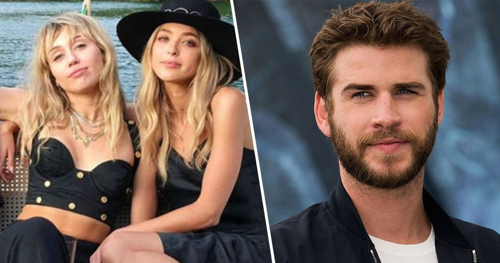 Liam Hemsworth Responds to Pics of Miley Kissing Kaitlynn Carter