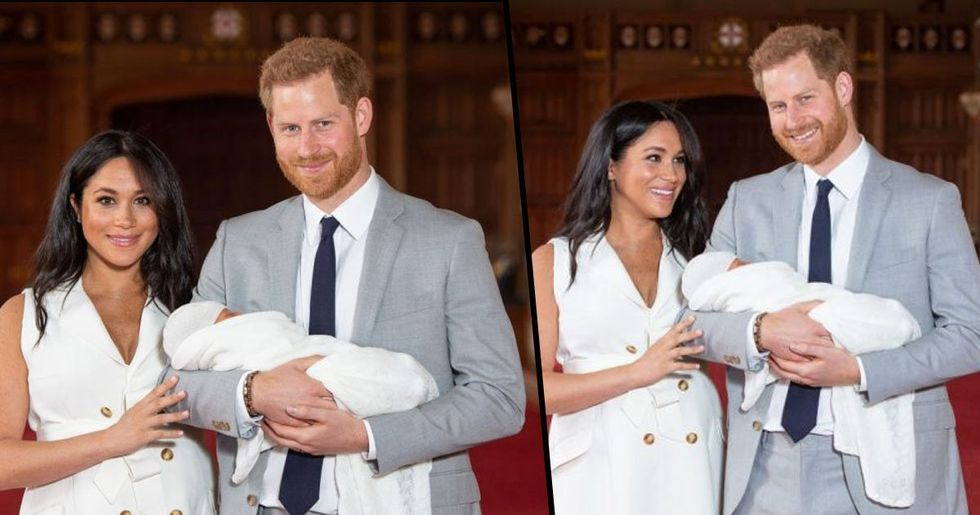 Baby Archie Has Beautiful Red Hair Just Like Prince Harry
