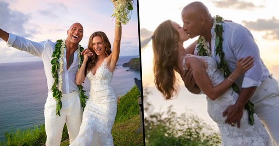 The Rock Marries Lauren Hashian In Secret Hawaiian Ceremony