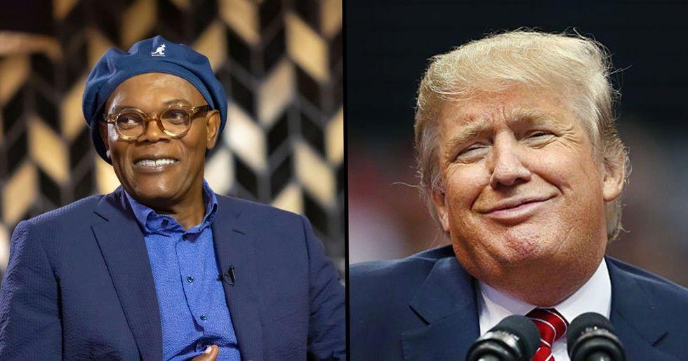 Samuel L. Jackson Taunts Fans Who Threaten to Boycott His Movies If He Keeps Slamming Trump