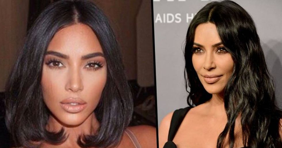 Kim Kardashian Shares Rare Make-Up Free Selfie With Psalm