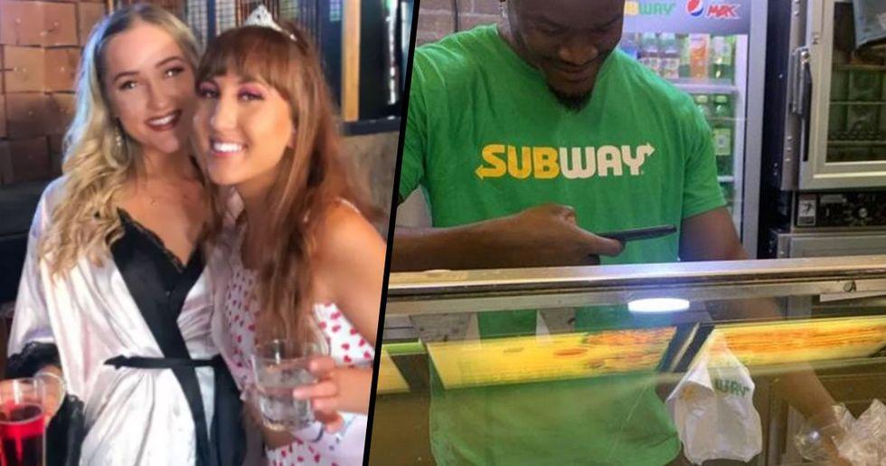 Woman's Drunken Subway Order Was so Weird the Sandwich Artist Took a Photo of It