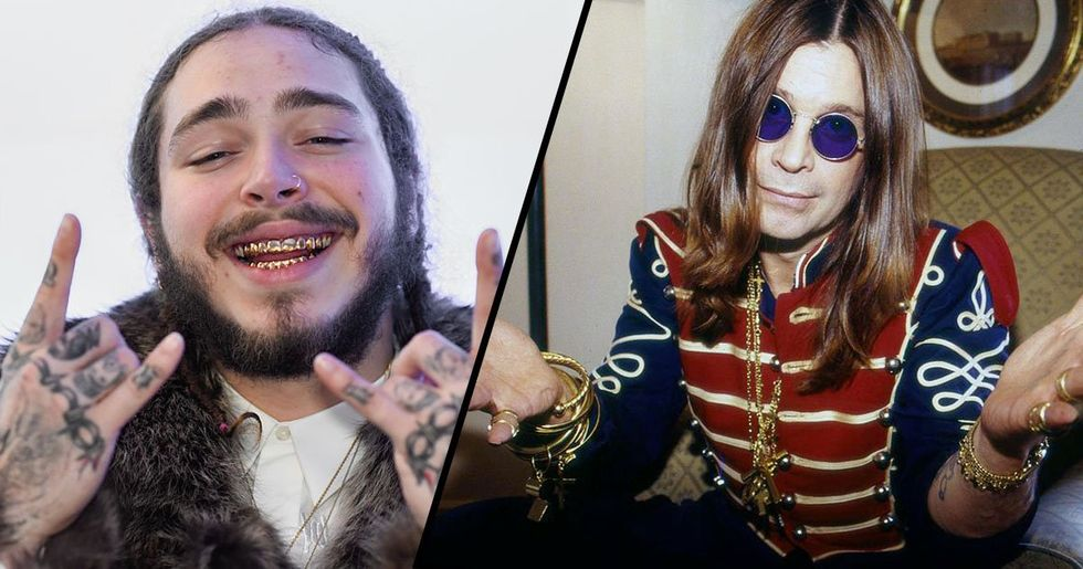 Post Malone Fans Praise Him for 'Discovering Ozzy Osbourne'