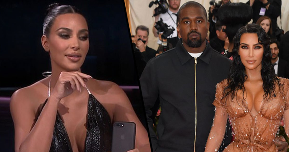 Kim Kardashian Shares Deeply Personal Text From Kanye