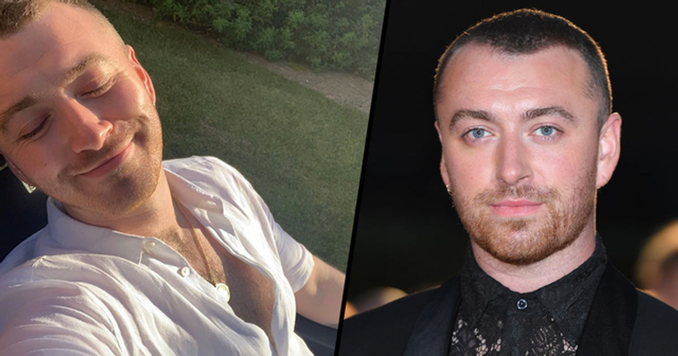 Sam Smith Wants to Be Referred to as 'They' Not 'He' After Non-Binary Announcement