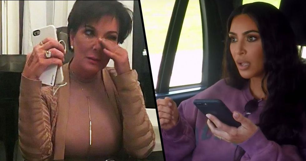 Kris Jenner Tackled by Kim Kardashian's Security Team