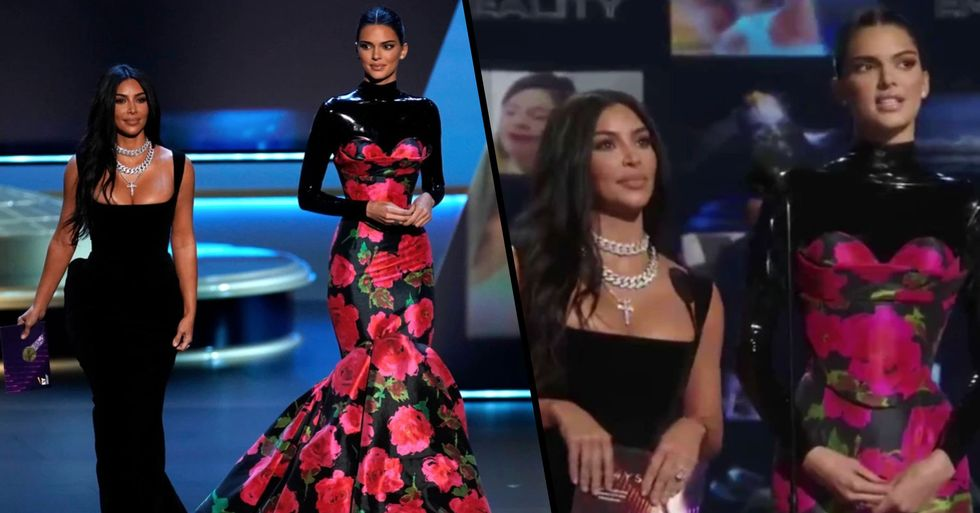 Kim and Kendall Were Brutally Trolled by Emmys Audience While Presenting an Award Last Night