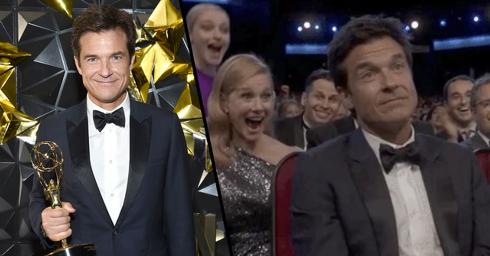 Jason Bateman's Reaction to Winning an Emmy Over 'Game of Thrones' Is Priceless
