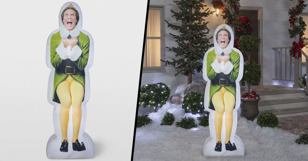 Target Is Selling Giant Inflatable Buddy the Elf for Christmas