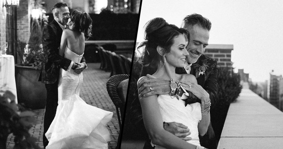 Hilarie Burton and Jeffrey Dean Morgan Got Married and the Pics Are Stunning