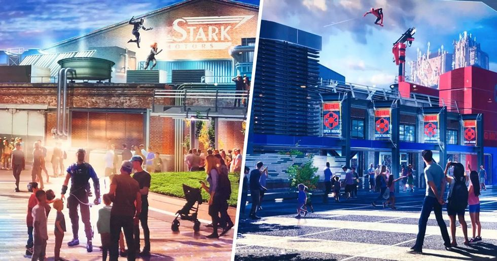 Disney Is Opening a Marvel-Themed 'Avengers Campus' Park in 2020