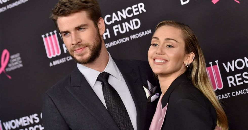 Liam Hemsworth's New Girlfriend Looks Like Miley Cyrus