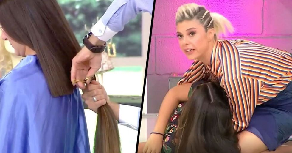 Woman Faints After Hairdresser Chops 12 Inches of Hair off Without Telling Her