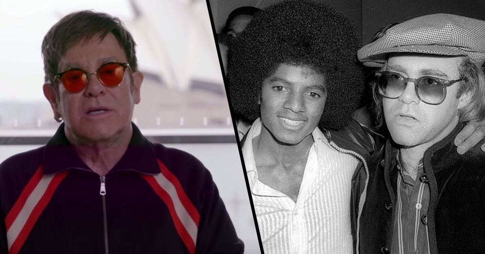 Elton John Says Michael Jackson Was 'Mentally Ill' and 'Disturbing to Be Around'