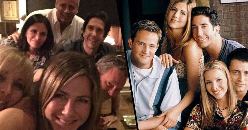 Jennifer Aniston Joins Instagram, Posts Picture Of 'Friends' Reunion