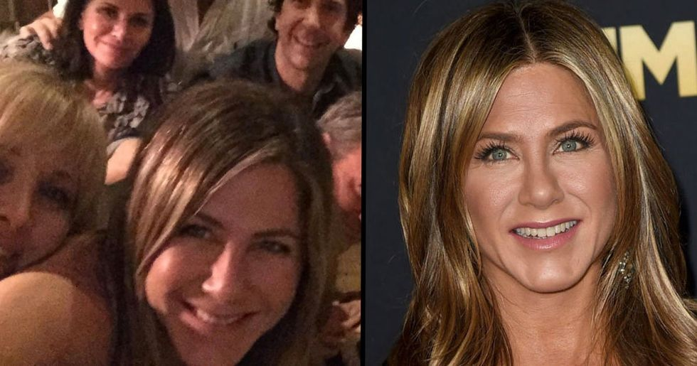 Fans Think They've Spotted Drugs in Jennifer Aniston's 'Friends' Reunion Pic