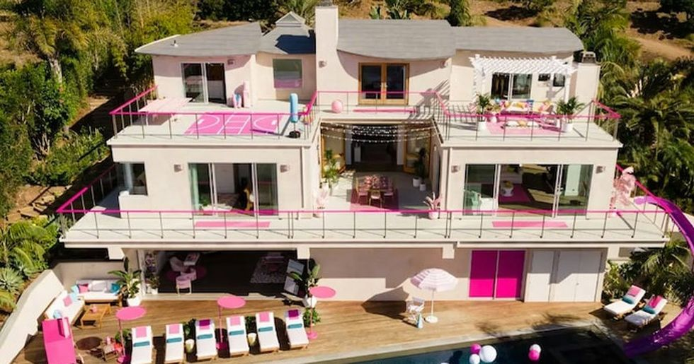 Barbie Malibu Dreamhouse Hits Airbnb for First Time