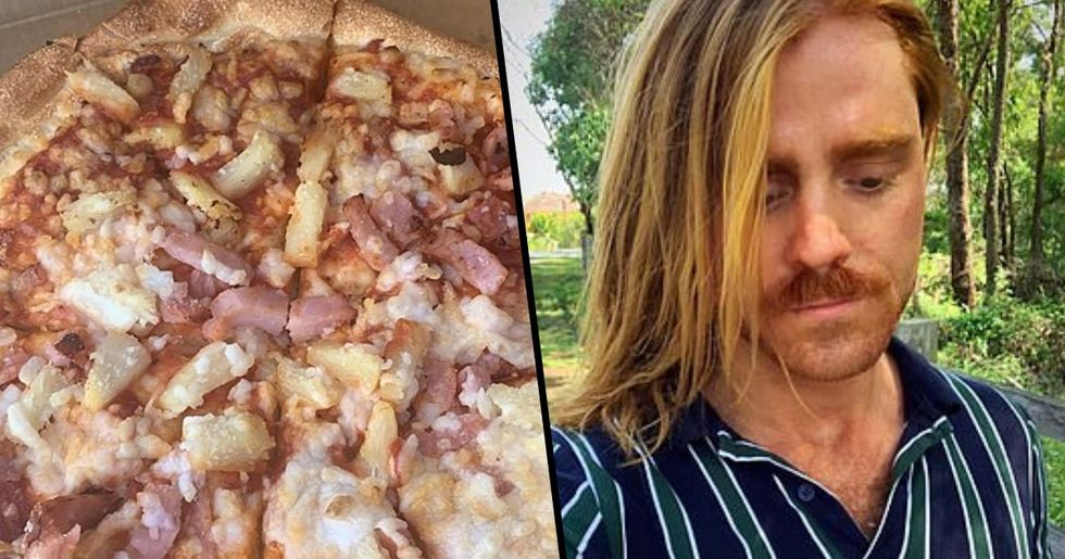 Vegan Man Struggles to Get over Trauma of Eating Pizza with Ham on It