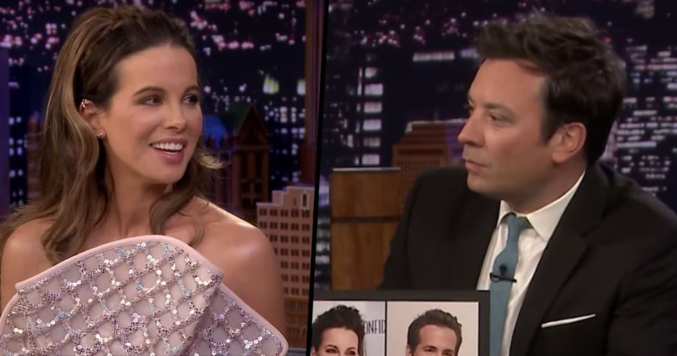 Kate Beckinsale Is Convinced That She Looks Exactly The Same As Ryan Reynolds