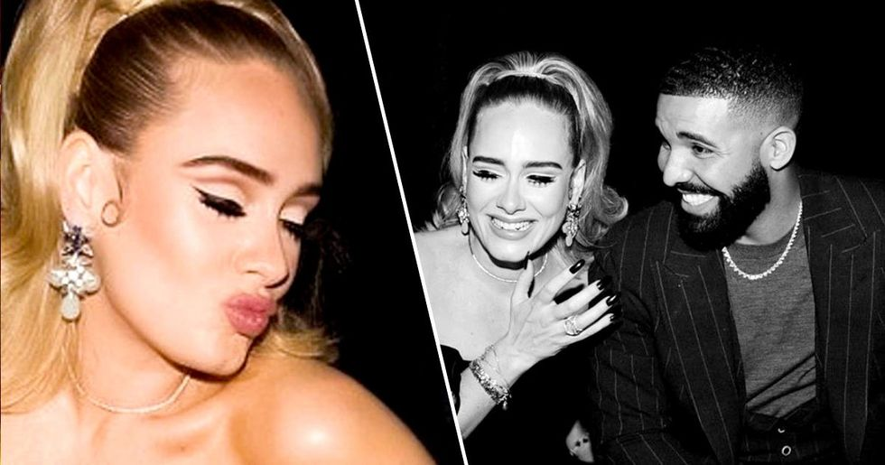 Adele Attends Drake's Birthday Party After Filing for Divorce
