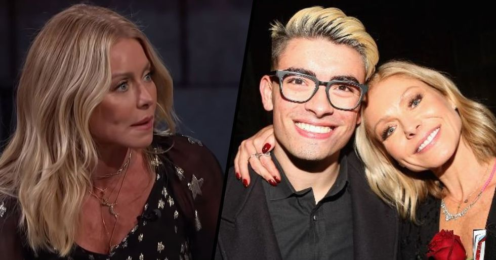Kelly Ripa Says Her Son Is Experiencing 'Extreme Poverty'