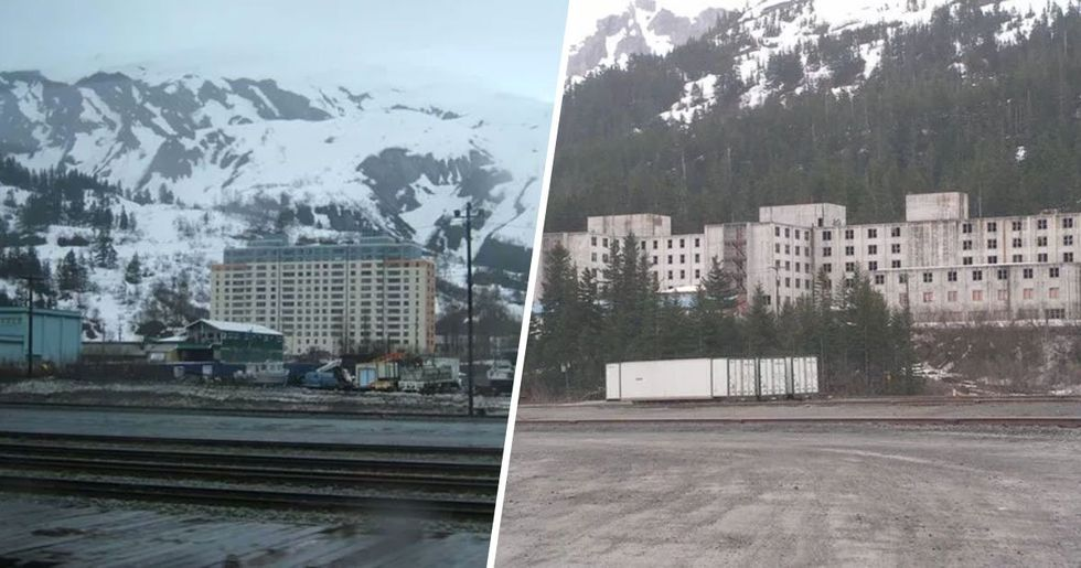 Inside Whittier, Alaska, the Town Where Everyone Lives in the Same Exact Building
