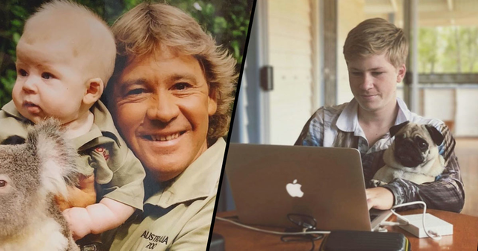 Steve Irwin's Son Has Just Graduated from School at Just 15-Years-Old