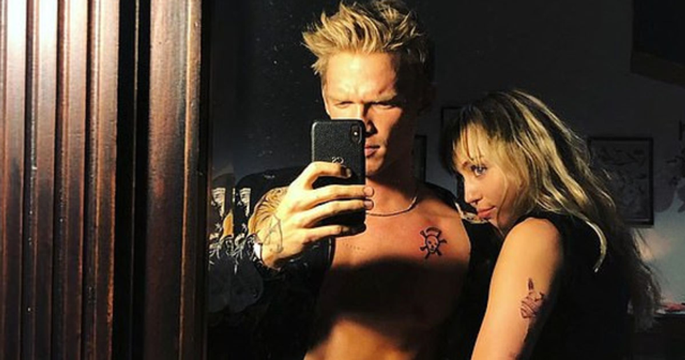 Miley Cyrus and Cody Simpson's Halloween Post Has Annoyed a Lot Of People