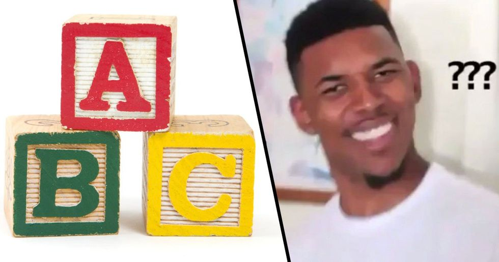 There's a New Version of the Alphabet Song to Clarify the 'LMNOP' Part, People Are Angry