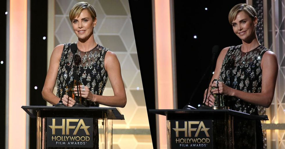 Charlize Theron Said Gender-Neutral Awards Categories Should Be Introduced
