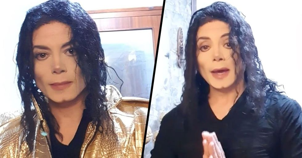 Michael Jackson Impersonator Called for DNA Test for Being That Convincing