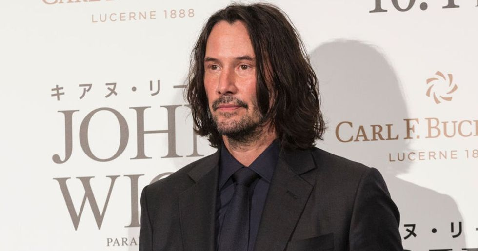 Keanu Reeves Goes Public with Girlfriend for the First Time in Decades
