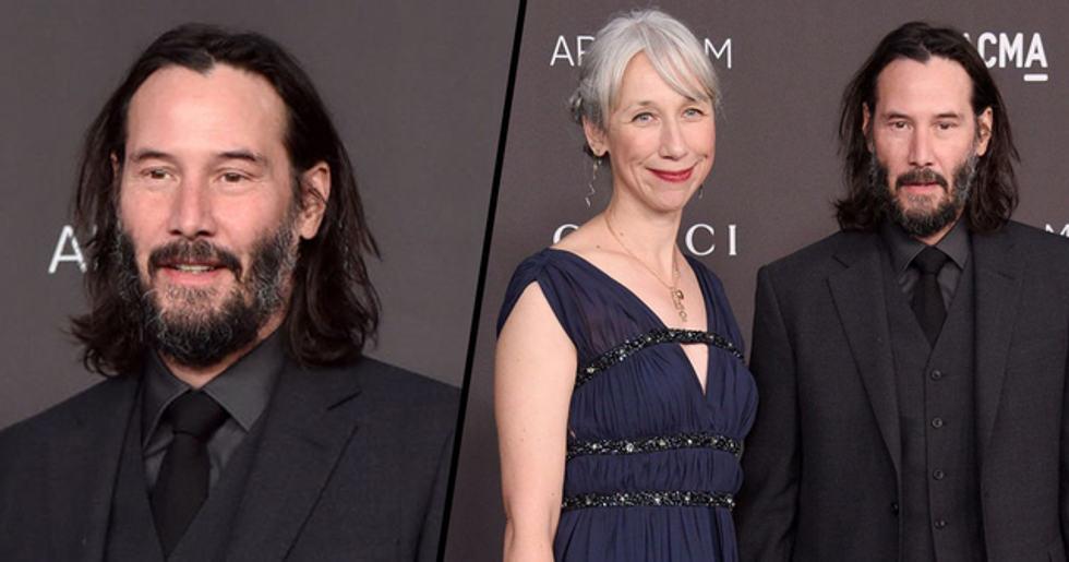 People Can't Get Over the Fact Keanu Reeves Has an 'Age-Appropriate' Girlfriend