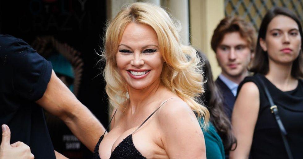 Pamela Anderson Slammed for 'Disgusting' Halloween Costume