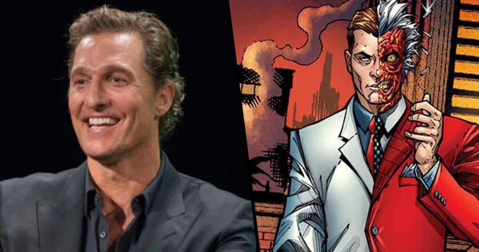 Matthew McConaughey Cast As Two Face In The New 'Batman' Film